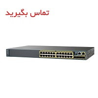 Cisco WS-C2960X-24TS-L 24 Port Switch