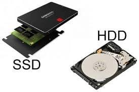 تفاوت حافظههای SSD  و HDD